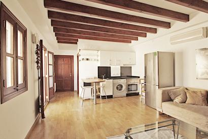 Furnished apartment  with terrace Old Town Palma