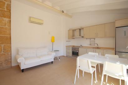 Altstadt Palma möblierte Wohnung mit Terrasse