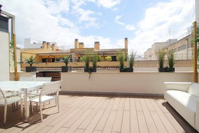 Brand new penthouse with terrace at Santa Catalina