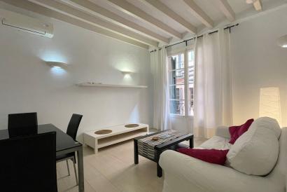 Apartamento amueblado de 2 dormitorio, 2 baños en La Lonja, Palma