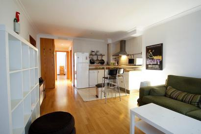 Apartment with terrace, furnished and lift in Plaza España area, Palma