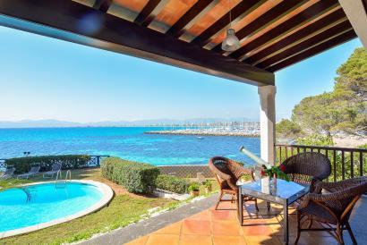 Alquiler vacacional Villa con acceso al mar en Son Veri