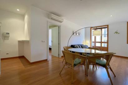 Apartamento amueblado de 2 dormitorios y con ascensor en la Plaza de sa Quartera, Palma
