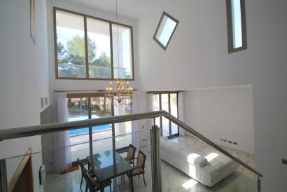 Las Maravillas, beautiful villa, sea view, pool and garden