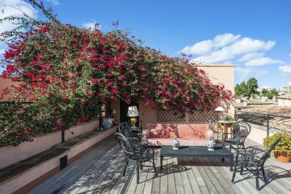 Altstadt Palma Fantastisches renoviertes Penthouse mit zwei Terrassen, Aufzug, Parkplatz