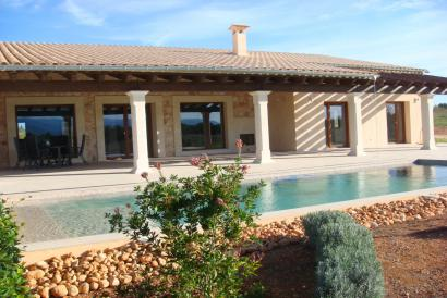 Brand new country house with views and pool in Sencelles