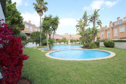 Duplex townhouse with garden in Palma