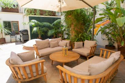 Old Town Palma luxury apartment 4 bedrooms with terrace