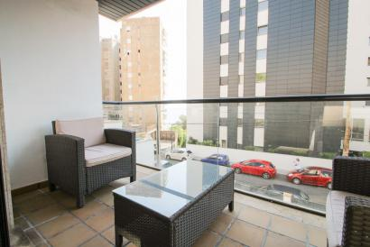 Furnished apartment with parking and terrace San Agustin