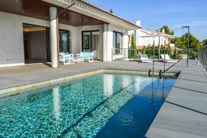 Brandneue Villa mit Pool in Son Vida-Palma