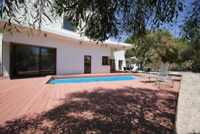 Moderna villa en el sur de Mallorca con vistas al mar