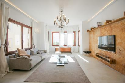 Short time Rental - 3 bed furnished apartment, Son Armadams, Palma
