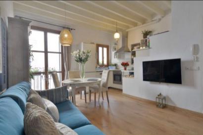 Elegante apartamento de un dormitorio en La Calatrava, Palma  Casco Antiguo