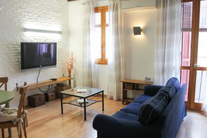 Casco Antiguo apartamento con carácter de un dormitorio y balcón