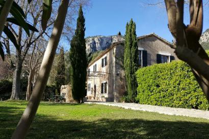 Atractiva casa de campo con piscina y carácter en Es Verger, Esporlas.