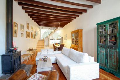 Casa de pueblo con encanto, amueblada y con terraza, Bunyola