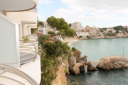 Apartment in front of the sea, one bedroom, elevator and pool in San Agustín.