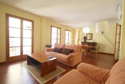 Apartamento amueblado de 4 dormitorios con ascensor en zona Santa Eulalia, Palma
