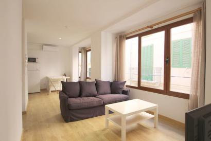 Furnished one bedroom apartment with one bedroom in Plaza de Cort area, Palma