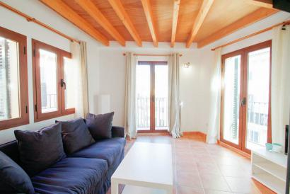 Furnished penthouse with terrace in Plaza Mayor area, Palma