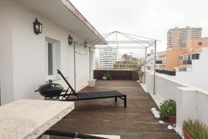 Fántastico Ático amueblado con terraza y parking en zona Paseo Mallorca.