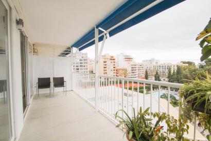 Apartamento amueblado y soleado, 3 dormitorios en zona Tenis, Palma