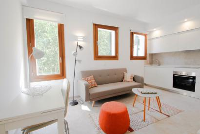 Furnished 1 bedroom apartment with lift and balcony in Palma Old Town.