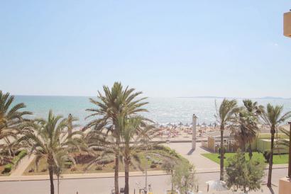 Vivienda con vistas al mar en Platja de Palma para reformar
