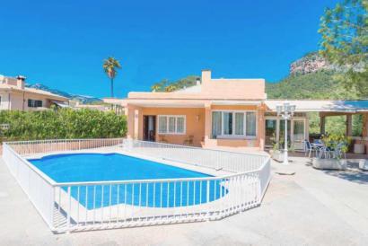 Villa con piscina y jardín  de 4 dormitorios en Bunyola, Mallorca
