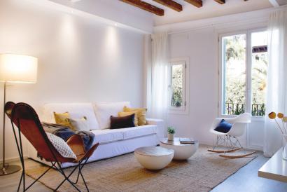 Bonito y elegante apartamento de dos dormitorios en zona Borne en el centro de Palma