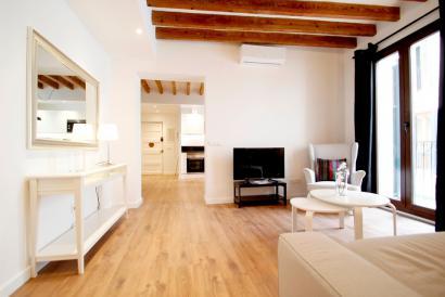 Apartamento a estrenar de dos dormitorios en zona Borne de Palma