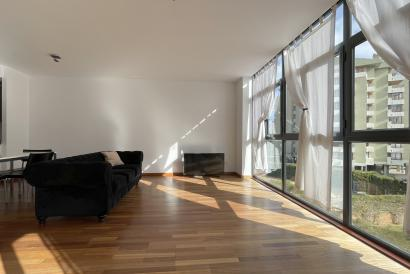 Möblierte Ein-Zimmer-Wohnung mit Terrasse im Schulbereich, Palma