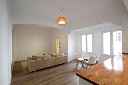 Apartamento de 3 dormitorios semi-amueblado en zona Foners, Palma