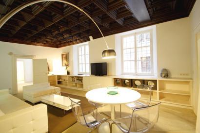 Repräsentative Wohnung mit zwei Schlafzimmern in der Kathedrale von Palma