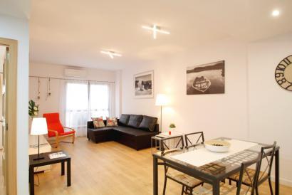 Moeblierte moderne Einzimmer Wohnung in der Gegend Foners von Palma zum Mieten