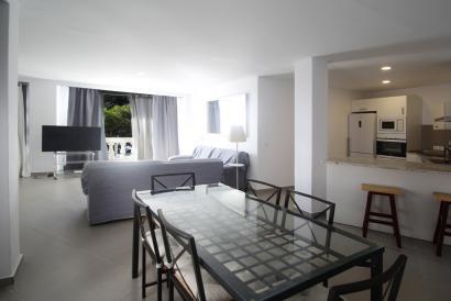 Apartamento con dos dormitorios y vistas al mar en Paseo Marítimo, Palma
