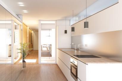 Apartamento de 3 dormitorios con terraza en Santa Catalina, Palma