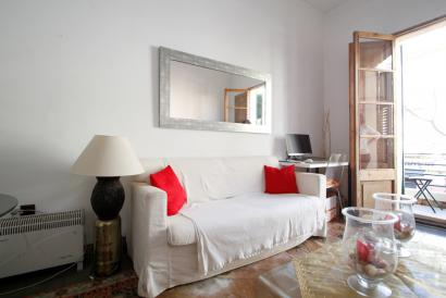 Furnished one bedroom apartment with balcony in Santa Catalina, Palma