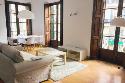 Furnished 1 bedroom apartment in Plaza Mayor area, Palma