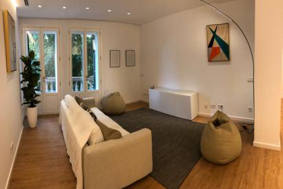 Elegante apartamento sin muebles de 3 dormitorios, terrazas en Palma.