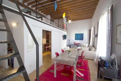 Furnished duplex apartment in the Cathedral area, Palma Old Town.