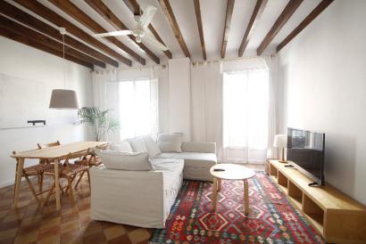 Elegante apartamento de 4 dormitorios vistas a la Catedral, Casco Antiguo Palma.