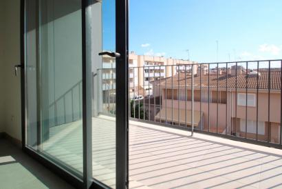 Apartamento nuevo a estrenar sin muebles de 2 dormitorios, terraza, parking, Son Ferriol.