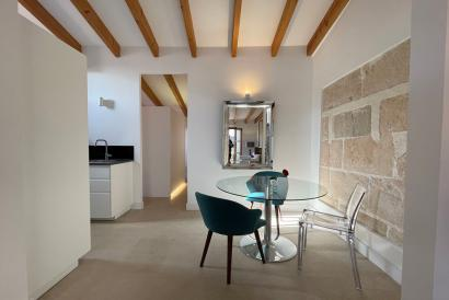 Elegant furnished apartment with one bedroom, terrace, La Lonja, Palma
