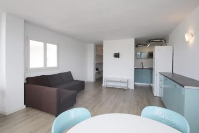 Soleado apartamento amueblado de 1 dormitorio en Magaluf, Calvia.