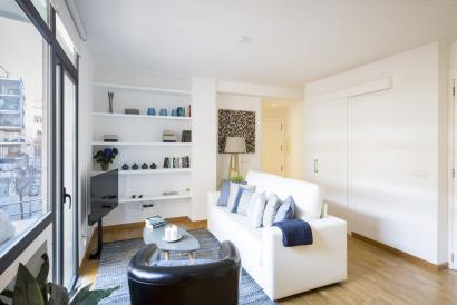 Möbliertes Apartment mit Terrasse und Aufzug, Paseo del Borne, Palma