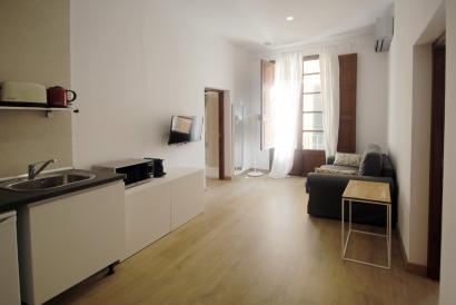 Coqueto apartamento de un dormitorio en la Lonja, Casco Antiguo de Palma.
