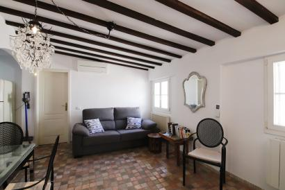 Cozy one-bedroom apartment in the center of the old town of Palma.