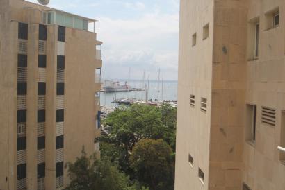 Apartamento dúplex de 1 dormitorio con vistas al mar, Paseo Marítimo Palma.
