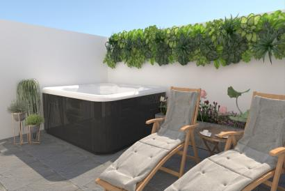Brand new modern house, 3 bedrooms with terrace in El Amanecer, Palma.